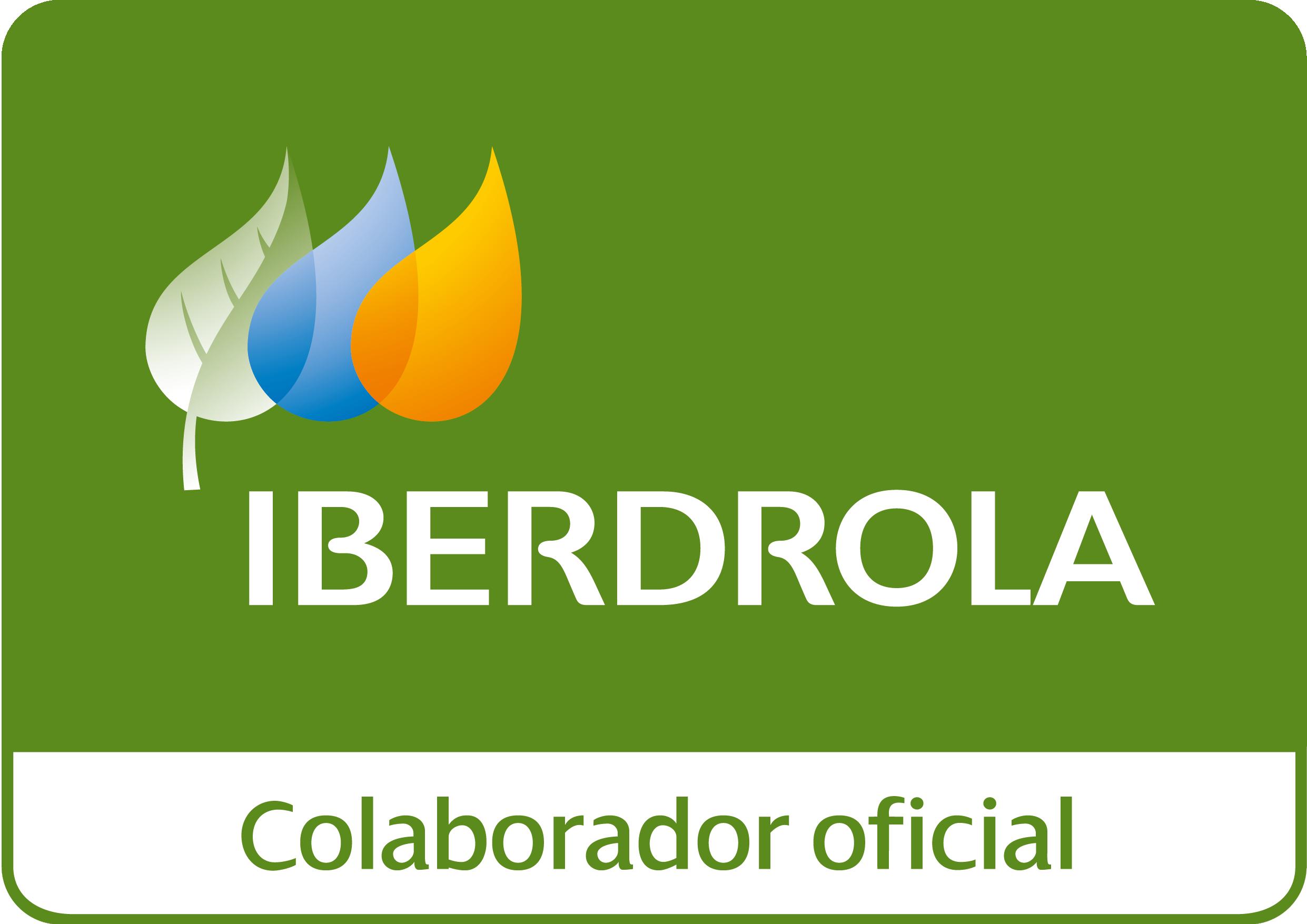Logotipo colaboración Iberdrola