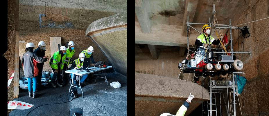 Infraestructuras inspeccionadas por profesionales ATES Technologies