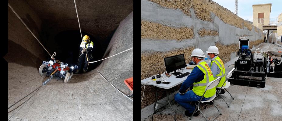 Inspeccionar infraestructuras civiles e industriales con ATES Technologies