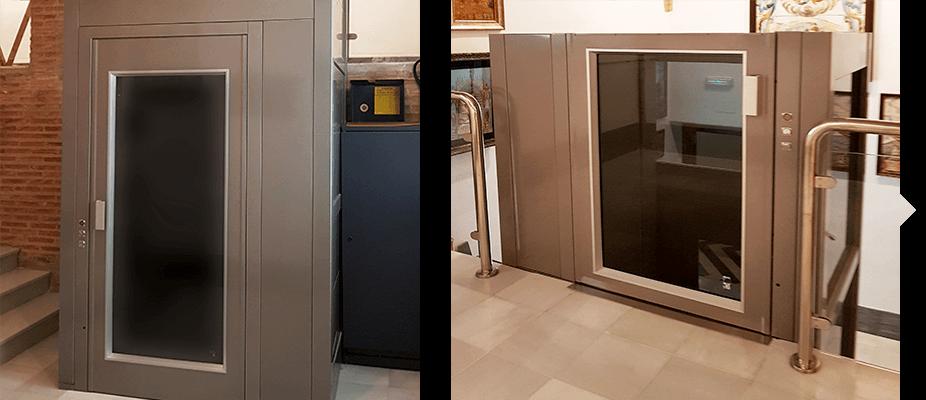 Proyectos de accesibilidad por ATES elevators