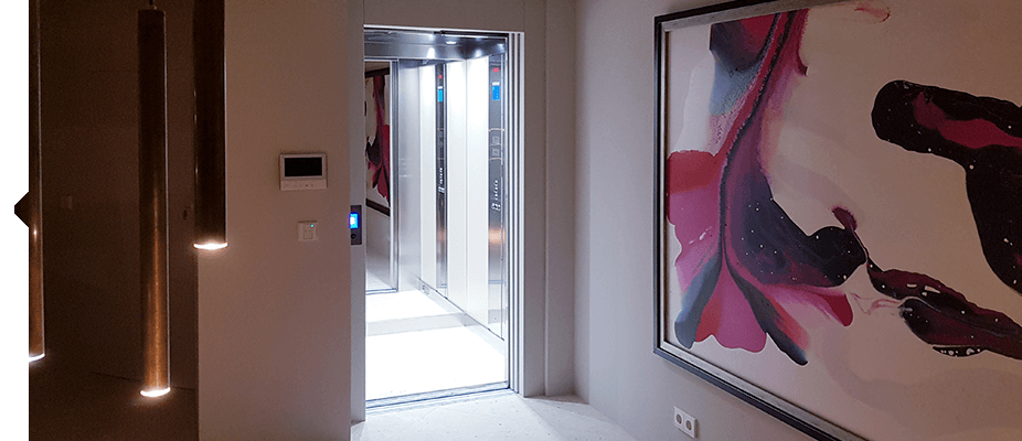 Homelifts Ascensores en viviendas propias por ATES elevators