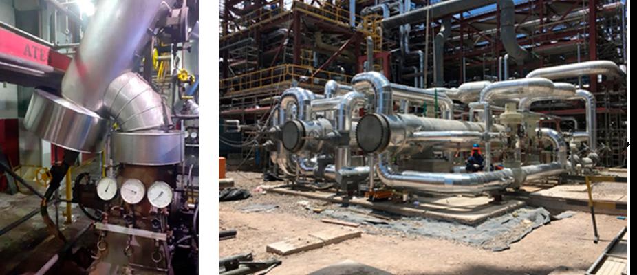Aislación térmica Industrial ATES