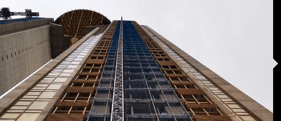 Montacargas ATES según las necesidades de cada construcción