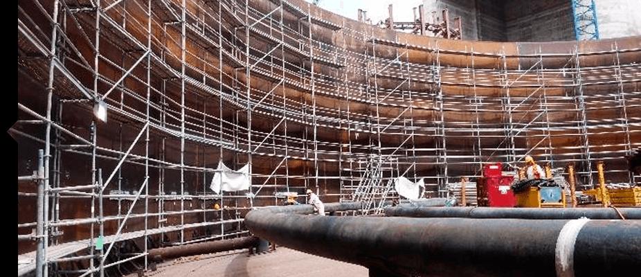 Montaje de andamios industriales ATES industrial