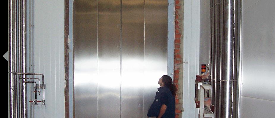 Instalación de ascensores industriales ATES soluciones elevations