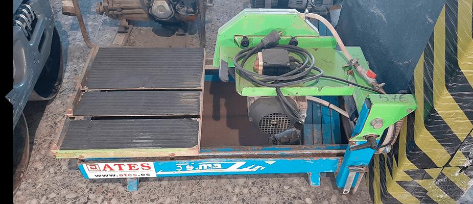 Cortadora de agua SIMA maquinaria auxiliar ATES