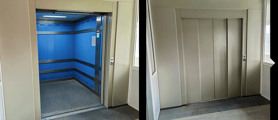 Montacargas ATES elevators intalaciones ascensores