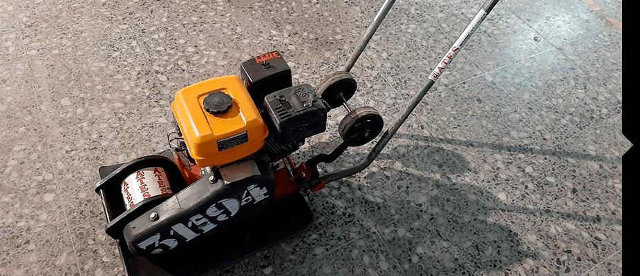 Maquinaria auxiliar de compactación de ATES Construction