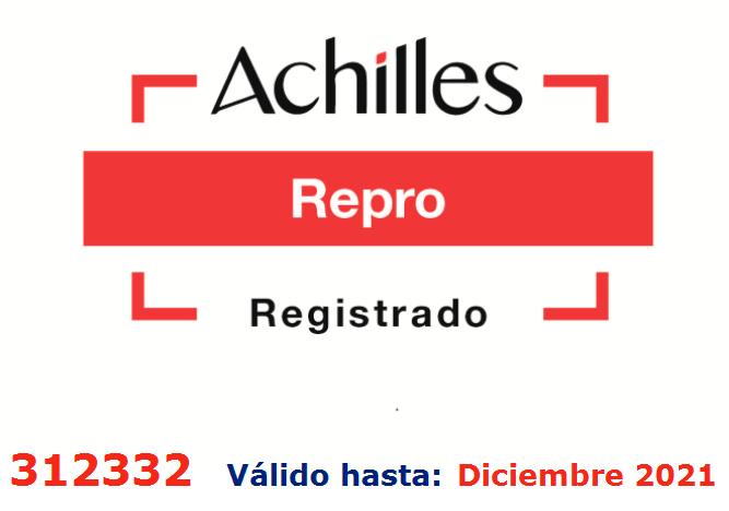 Sello certificado de REPRO 2021
