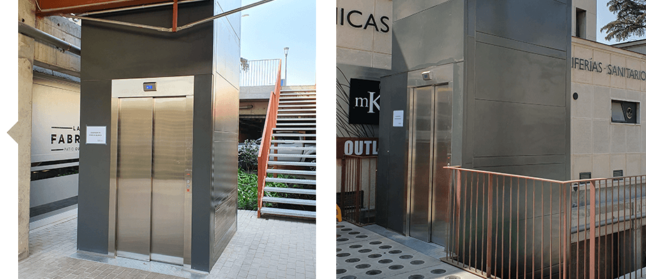 Ascensores de ATES Elevators para la accesibilidad