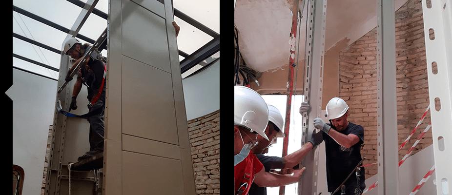 Soluciones para edificios sin ascensor ATES Elevators rehabilita y reforma