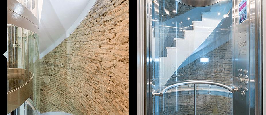 Modernización de edificios sin ascensor por ATES Elevators