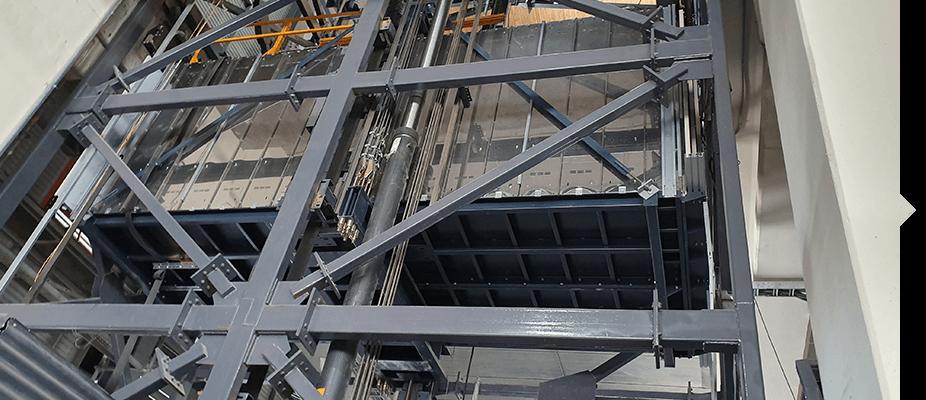 Instalaciones de montacargas por ATES Elevators