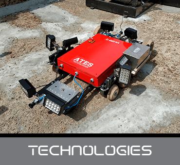 Ates Technologies es la división que está en pleno desarrollo con las nuevas tecnologías y avances en la inspección de infraestructuras