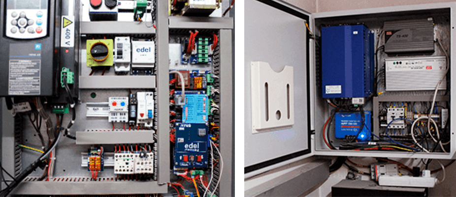 en la instalación del sistema de ahorro y reducción del consumo de la luz planteado por ATES Energy solutions